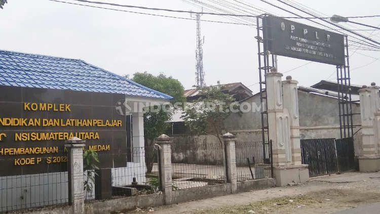 Kompleks PPLP Sumut di Medan. Copyright: © Aldi Aulia Anwar/INDOSPORT