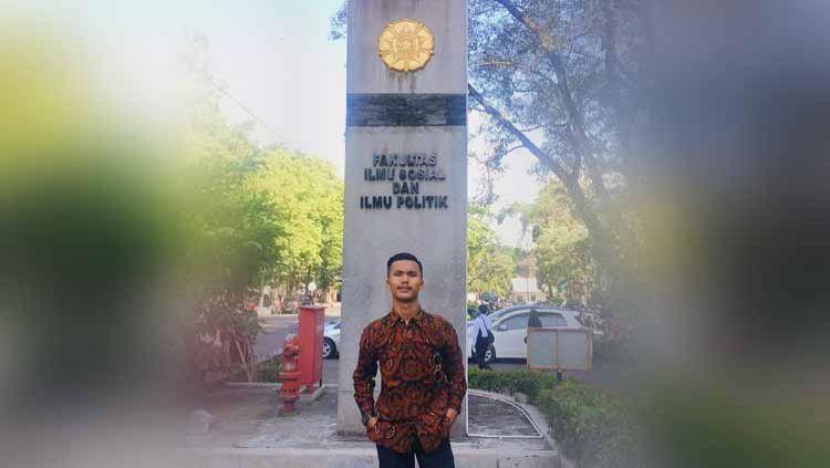 Hilarius Bryan, pemain sepak bola Indonesia yang pernah dilirik Real Valladolid. Copyright: © Dok. Pribadi Hilarius Bryan
