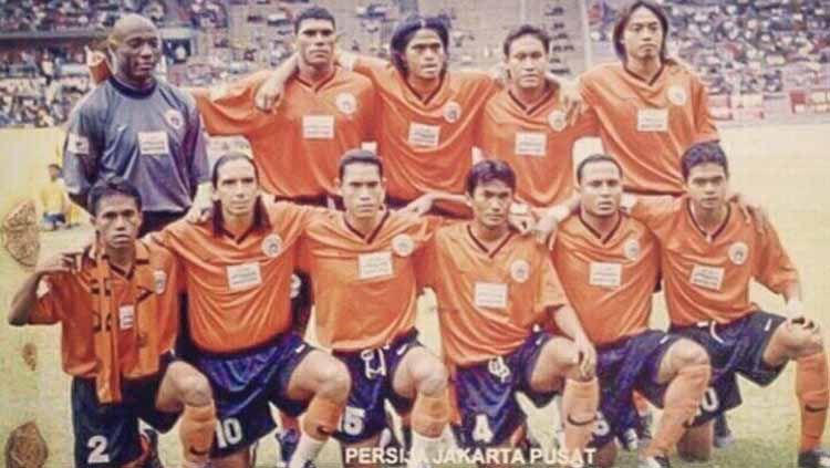 Joko Kuspito mengaku moment membela Persija Jakarta menjadi paling berkesan dalam dua dekade perjalanan karirnya sebagai pesepakbola profesional. Copyright: © Dok. Pribadi