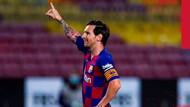 Ini lima rekor luar biasa seorang bintang Barcelona, Lionel Messi yang tak tertandingi. Copyright: © https://twitter.com/FCBarcelona