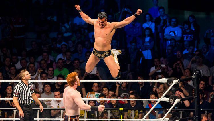 Mantan juara World Wresting Entertainment (WWE), Alberto Del Rio. Copyright: © NurPhoto/Corbis via Getty Images