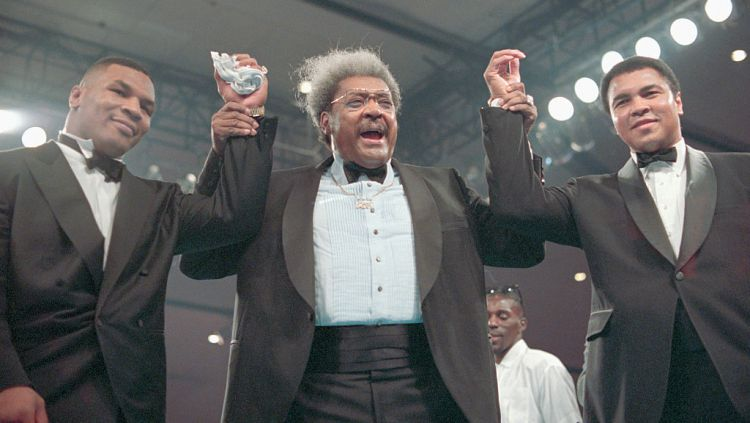 Mike Tyson, Don King, dan Muhammad Ali Copyright: © Bettmann / Contributor via Getty Images