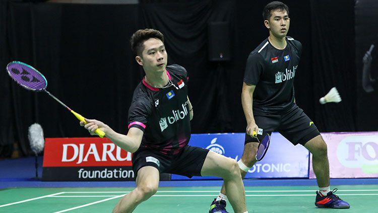 Federasi Bulutangkis Dunia (BWF) menobatkan pebulutangkis Kevin Sanjaya Sukamuljo sebagai 'Master of Deception' di sektor ganda putra. Copyright: © Badminton Indonesia