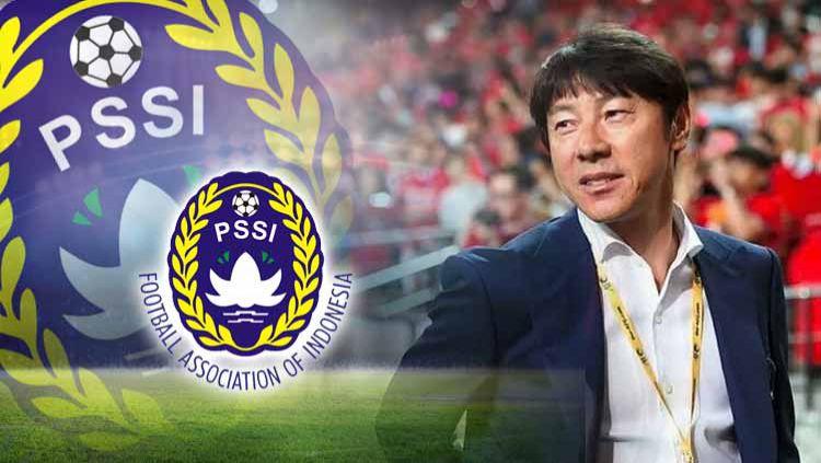 Usai islah dengan PSSI, pelatih asal Korea Selatan, Shin Tae-yong, pun dituntut untuk segera melakukan gebrakan dalam memimpin Timnas Indonesia. Copyright: © Grafis: Yanto/INDOSPORT