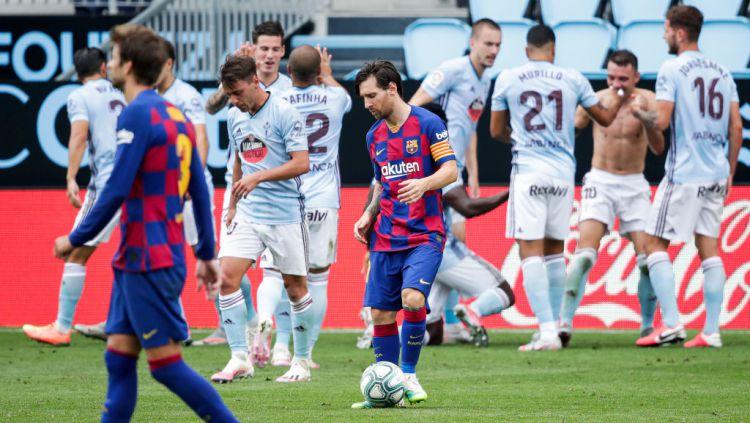Kian nyata dikudeta pada daftar top skor LaLiga Spanyol, Lionel Messi tak boleh masih dalam predikat mandul di laga Barcelona. Copyright: © David S. Bustamante/Soccrates/Getty Images