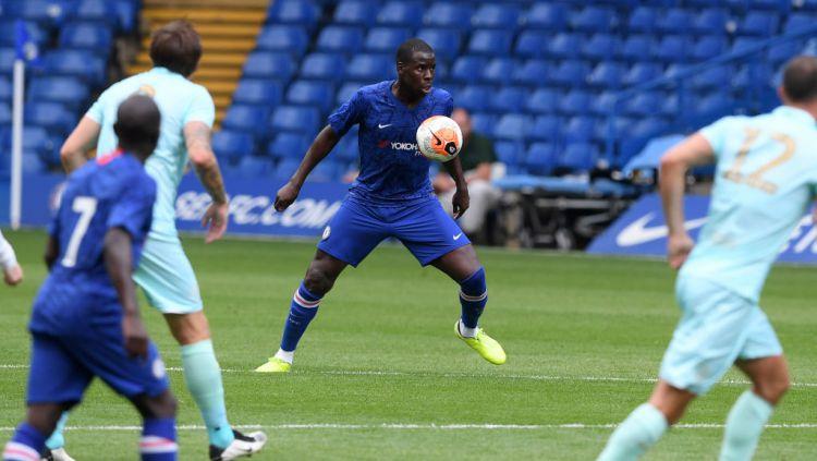Kurt Zouma, bek Chelsea Copyright: © Darren Walsh/Chelsea FC via Getty Images
