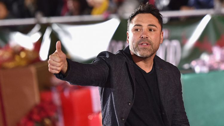 Oscar De La Hoya Copyright: © Mike Windle/Getty Images for The Hollywood Christmas Parade