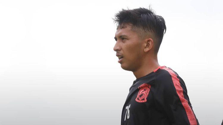 Pemain Borneo FC, Arya Gerryan Senyiur Lawolo. Copyright: © Twitter/@PusamaniaBorneo