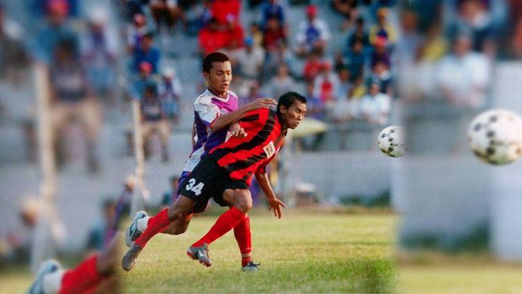Boy Jati Asmara, mantan pemain Persipura dan Persib Bandung. Copyright: © Instagram Boy Jati Asmara
