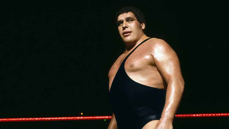 Andre The Giant. Copyright: © WWE