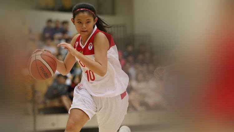 Maria Leony Elvaretta merupakan pebasket putri Indonesia yang tergabung dalam tim basket GMC Cirebon, dan memiliki pesona dan kecantikan yang menawan. Copyright: © Instagram@marialeony_