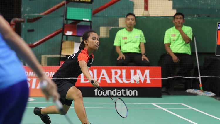 Salah satu atlet binaan PB Djarum, Mutiara Ayu Puspitasari. Copyright: © PB Djarum