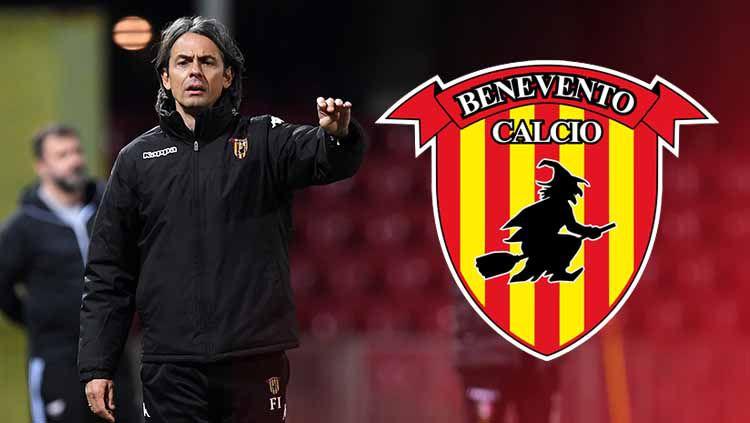 Siapa sangka Filippo Inzaghi meraih kesuksesan besar bersama klub Benevento di Serie B musim ini dan menapakkan diri sebagai pelatih muda menjanjikan di Italia. Copyright: © Grafis:Frmn/Indosport.com