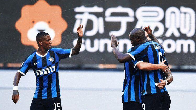 Berikut klasemen Serie A Liga Italia per Selasa (14/07/20). Inter Milan melesat ke urutan kedua usai tekuk Torino 3-1. Copyright: © Claudio Villa - Inter via Getty Images