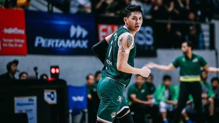Pemain basket Indonesia, Daniel Wenas. Copyright: © Instagram@danielwenas