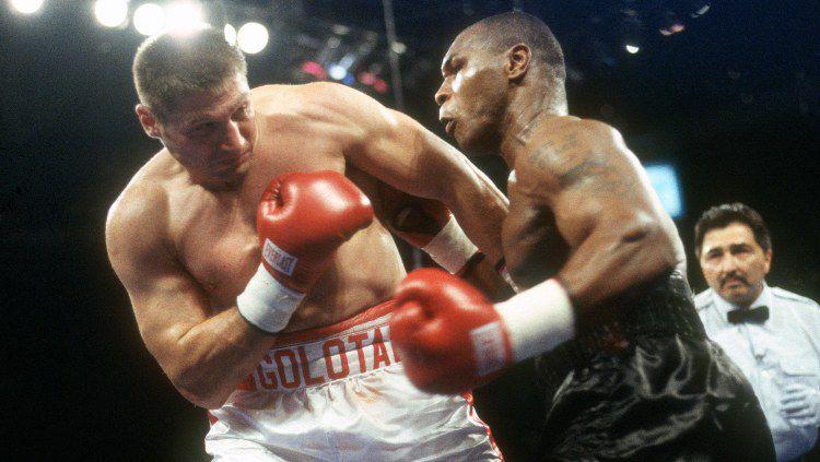Promotor dunia Eddie Hearn mencibir pertandingan ekshibisi antara Mike Tyson vs Roy Jones Jr yang akan digelar pada 2 September 2020 mendatang. Copyright: © Focus on Sport/Getty Images