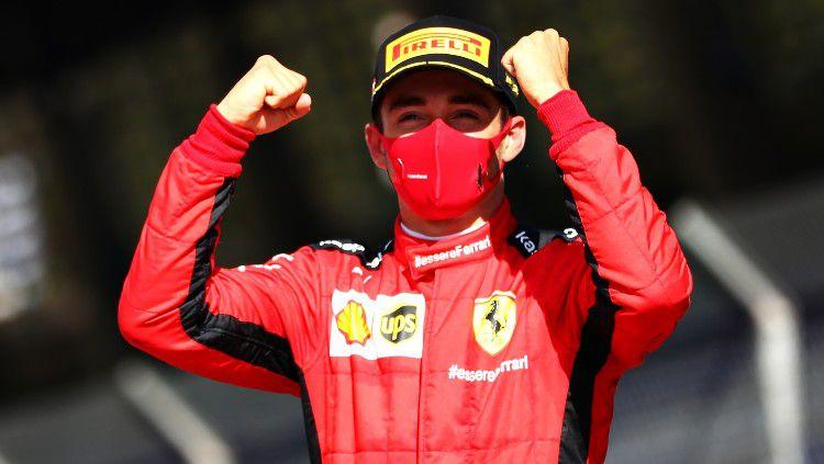 Mantan pembalap Formula 1 (F1), Mark Webber mengklaim bahwa Charles Leclerc bisa saja mengikuti nasib buruk yang dialami oleh Sebastian Vettel di tim Ferrari. Copyright: © Dan Istitene - Formula 1/Formula 1 via Getty Images