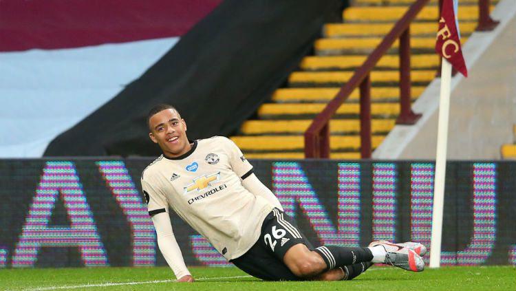 Bintang muda Manchester United, Mason Greenwood, mengungkapkan satu nama rekan satu timnya yang memiliki pengaruh besar di skuat Ole Gunnar Solskjaer. Copyright: © Alex Livesey - Danehouse/Getty Images