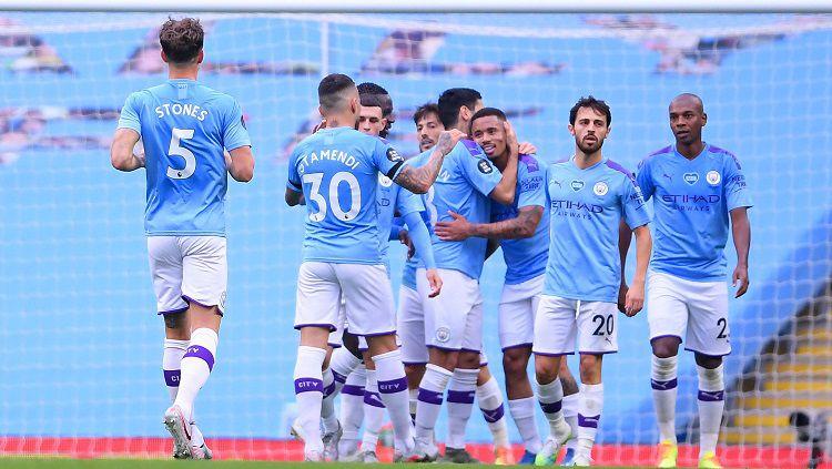 Manchester City Kembali Lepas Satu Pemain Muda Mereka di Bursa Transfer. Copyright: © Twitter Premier League