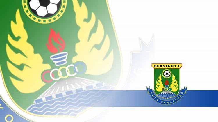 Logo lub Liga 3, Persikota Tangerang. Copyright: © Grafis: Yanto/INDOSPORT