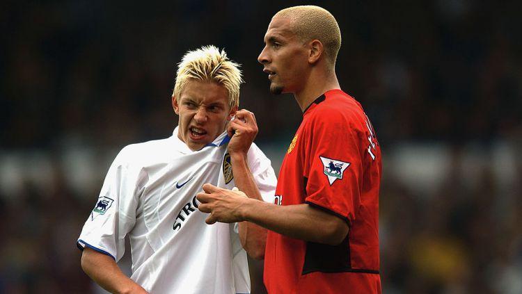 Manchester United akan menjamu Leeds United, Minggu (20/12/20) malam WIB. Siapa sangka, duel ini terkait erat dengan sebuah perang saudara berdarah di Inggris. Copyright: © Shaun Botterill/Getty Images