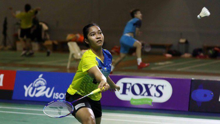 Meskipun Ester seorang debutan, kemampuannya dipercaya Sang Pelatih guna mewakili Indonesia di Piala Sudirman 2021. Copyright: © Badminton Indonesia