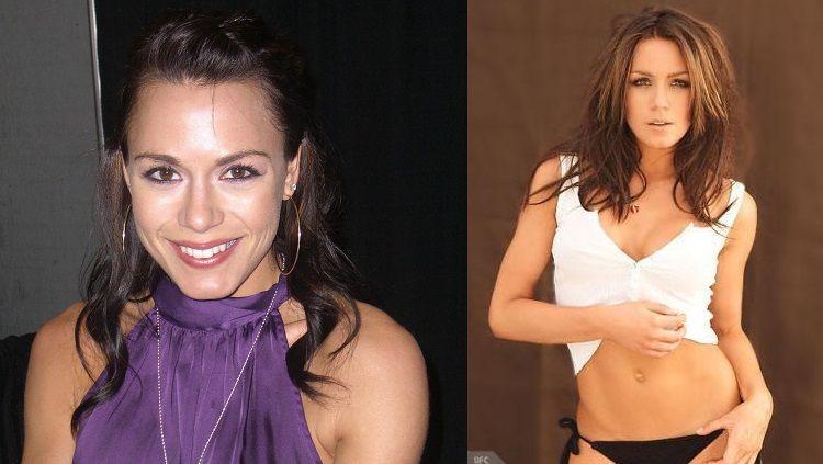 Rachelle Leah, salah satu ring girl paling menawan di kancah Ultimate Fighting Championship (UFC) Copyright: © UFC