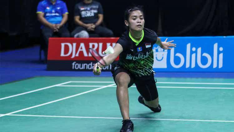 Hasil Thailand Open 2021 Gregoria Mariska Dikalahkan Pengantin Baru Indosport