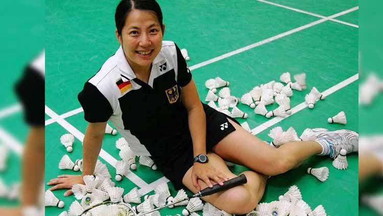 Melegenda di bulutangkis Jerman setelah tinggalkan Negeri Tirai Bambu, Xu Huaiwen sukses menjadi sorotan dari media China, Sports Sina. Copyright: © Alchetron