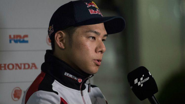 Pembalap asal Jepang, Takaaki Nakagami saat ini mejadi jagoan baru bagi tim Honda, setelah Marc Marquez harus absen panjang di MotoGP 2020. Copyright: © Mirco Lazzari gp/Getty Images