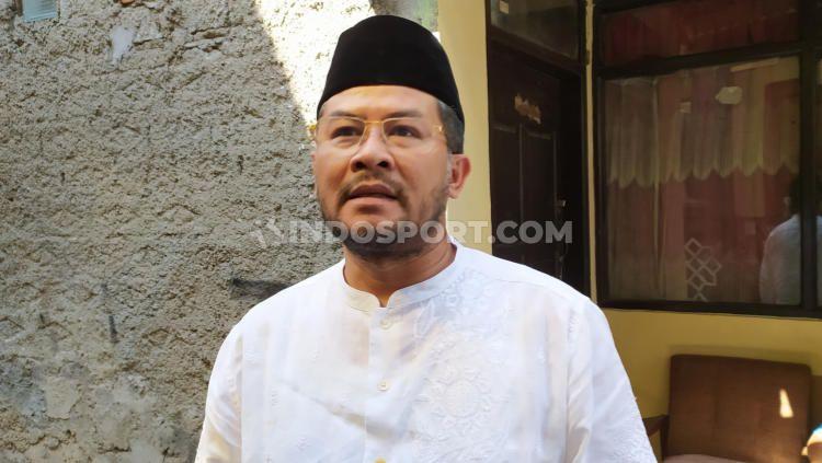 Manajer tim sepak bola putra Jawa Barat, Erwan Setiawan. Copyright: © Arif Rahman/INDOSPORT