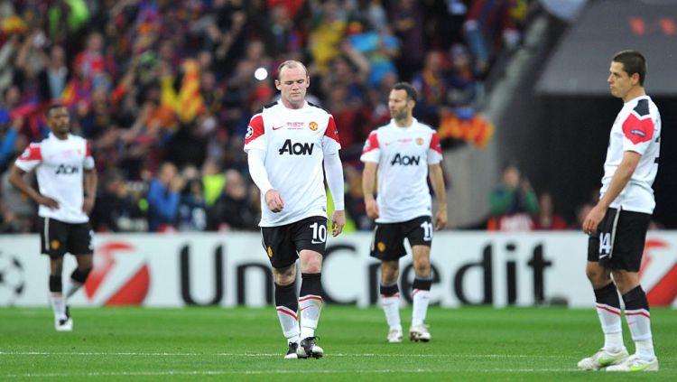 Berikut lima pemain yang nasibnya merana lantaran bermain terlalu lama di klub Liga Inggris, Manchester United. Copyright: © Martin Rickett/PA Images via Getty Images