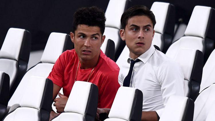 Cristiano Ronaldo dan Paulo Dybala Copyright: © Nicolò Campo/LightRocket via Getty Images