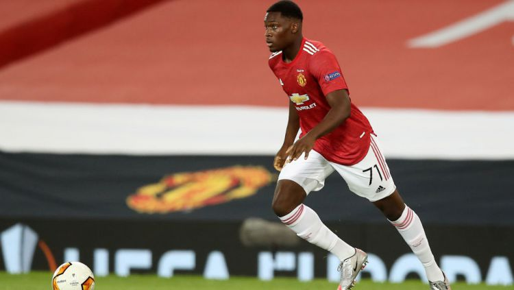Teden Mengi, wonderkid Manchester United Copyright: © Martin Rickett/PA Images via Getty Images