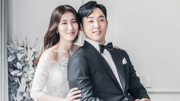 Kim Sa- rang dan Eom Hye-won, pasangan bulutangkis asal Korea Selatan. Copyright: © Instagram/Eom Hye-won