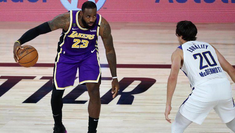 LA Lakers vs Indiana Pacers, Minggu (09/08/20). Copyright: © Kim Klement-Pool/Getty Images