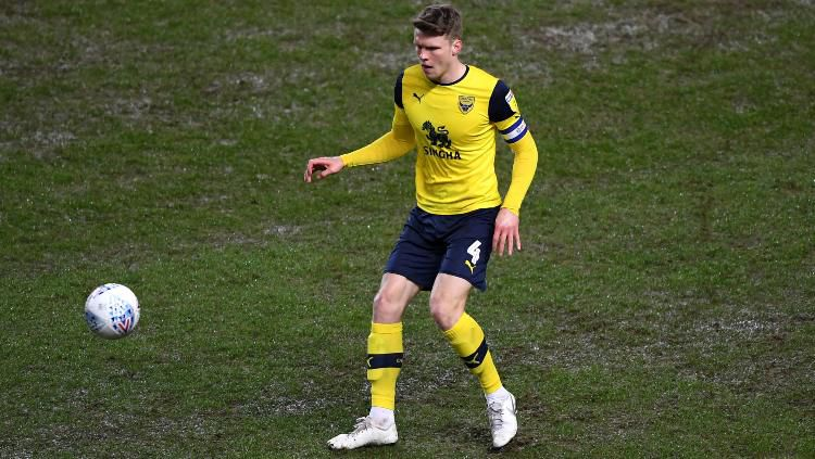 Robert Dickie, pemain Oxford United. Copyright: © Alex Davidson/Getty Images
