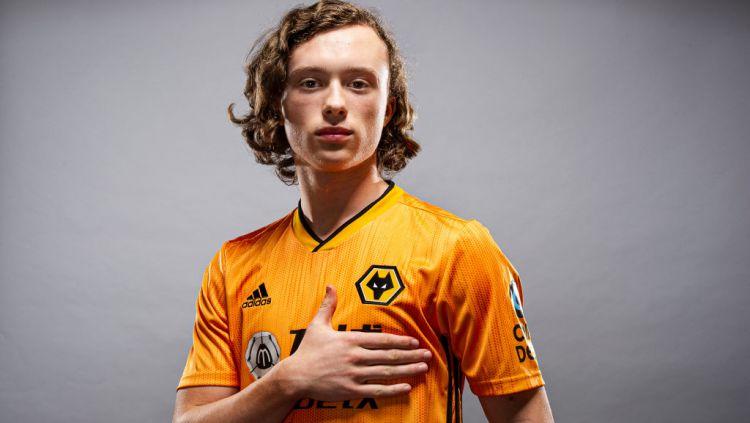 Nama Luke Matheson mungkin terdengar asing untuk para pencinta sepak bola Liga Inggris, namun tidak untuk fans Manchester United. Copyright: © stuartmanleyphotography/Wolves/WWFC via Getty Images