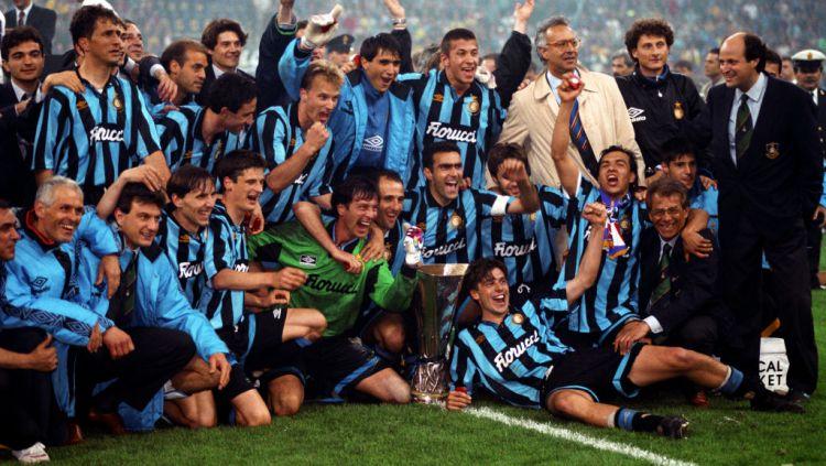 Inter Milan Juara Liga Europa di musim 1993-1994 Copyright: © Steve Morton/EMPICS via Getty Images