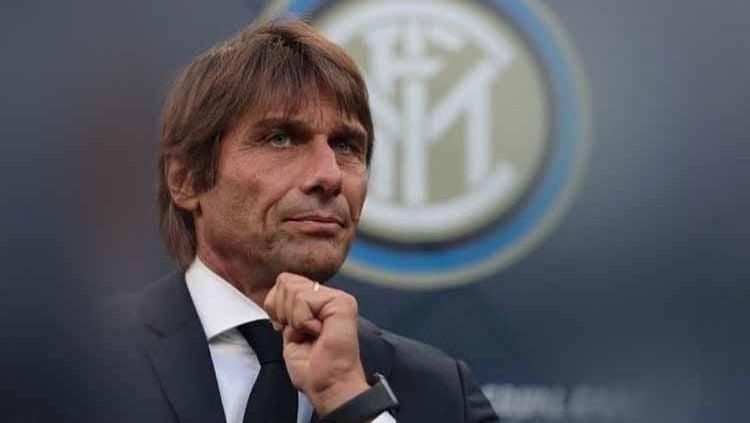 Ironi Antonio Conte dan Olympique Marseille di Liga Champions: dari menjuarainya di masa silam hingga menjadi pecundang di masa kini. Copyright: © Instagram@mr_antonio_conte