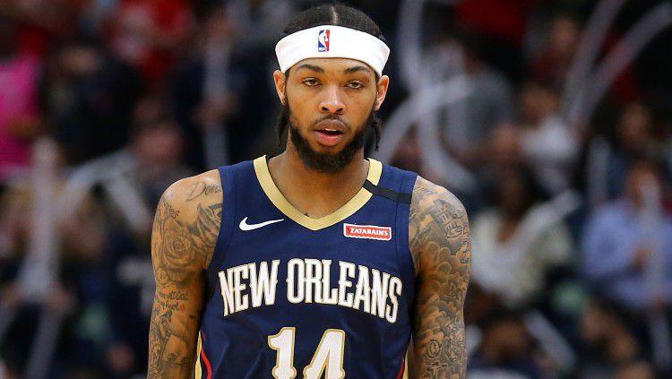 Brandon Ingram, pemain New Orleans Pelicans. Copyright: © Jonathan Bachman/Getty Images
