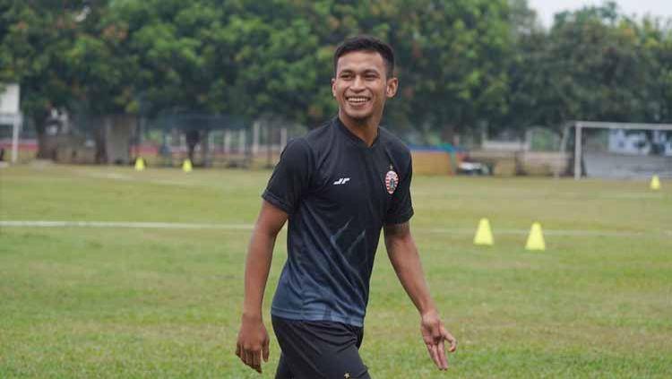 Osvaldo Haay berbagi cerita soal ditangani pelatih top baik di Timnas Indonesia maupun Persija. Copyright: © Media Officer Persija