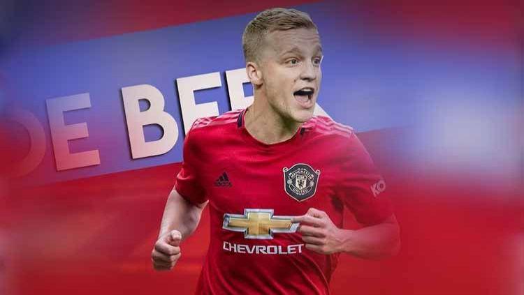 Pemain baru Manchester United, Donny van de Beek. Copyright: © Instagram@#donnyvandebeek