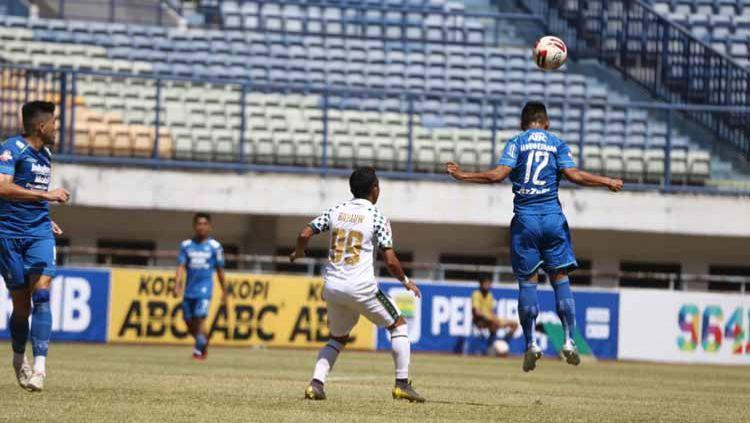 Uji coba Persib vs Persikabo di stadion GBLA, Sabtu (05/09/20). Copyright: © Media Officer Persikabo