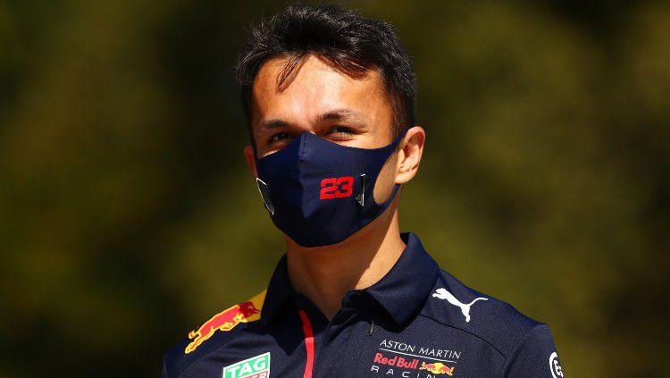 Alex Albon, pembalap F1 dari tim Red Bull Racing. Copyright: © Dan Istitene - Formula 1/Formula 1 via Getty Images