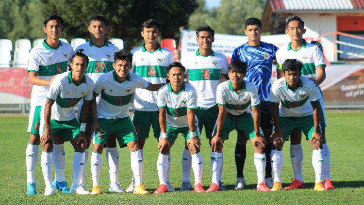 Timnas Indonesia U-19 baru saja menerima kabar buruk setelah Konfederasi Sepak bola Asia (AFC) mengumumkan penundaan Piala Asia U-19 2020. Copyright: © Media Officer PSSI/Bandung Saputra