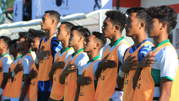 Timnas Indonesia U-19 vs Bulgaria. Copyright: © Media Officer PSSI/Bandung Saputra