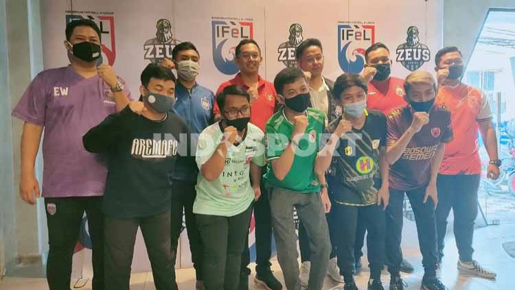 Berikut adalah klasemen sementara pekan pertama ajang Indonesian Football e-League (IFeL) 2020 yang telah digelar pada Sabtu (12/09/20). Copyright: © Martini/INDOSPORT