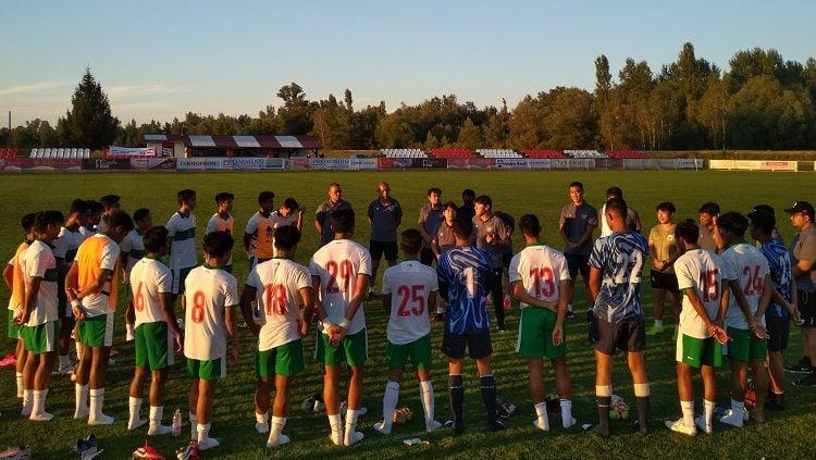 Timnas Indonesia U-19 hanya menyisakan satu laga internal game pada 23 Oktober besok. Copyright: © Media PSSI