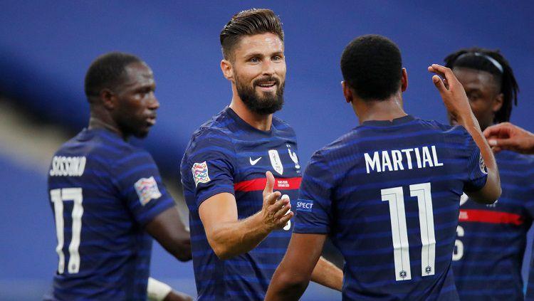 Prediksi Laga Persahabatan antara Prancis vs Ukraina, Uji Strategi untuk Hadapi Lawan Berat di UEFA Nations League. Copyright: © Twitter ICC